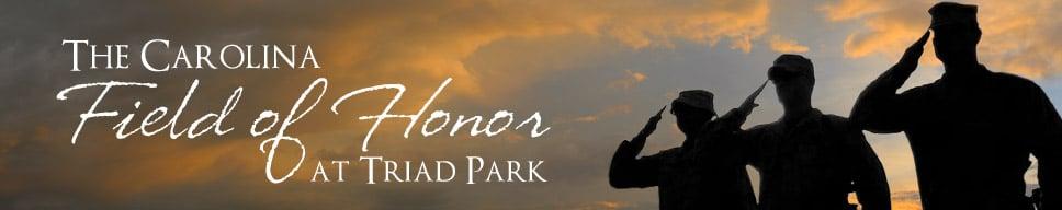 The Carolina Field of Honor at Triad Park